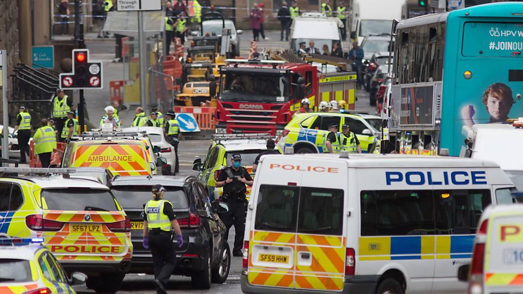Messerattacke in Glasgow: Polizei identifiziert Täter