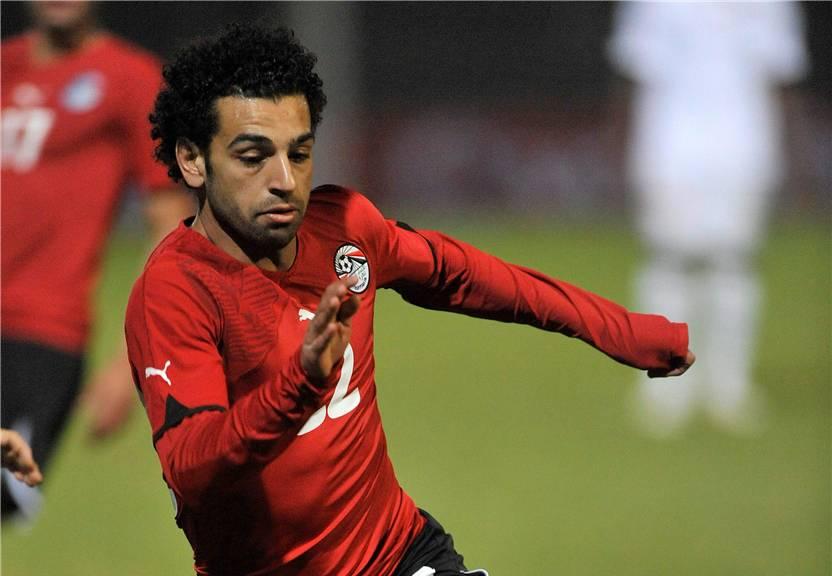 Mohammed Salahs erstes Tor für Ägypten