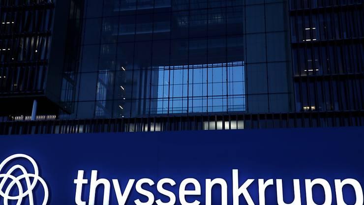 Thyssenkrupp baut in Stahlsparte in nächsten Jahren 3000 Stellen ab. (Archiv)