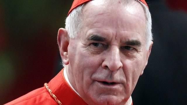 Tritt nach Vorwürfen zurück: Kardinal Keith O'Brien (Archiv)