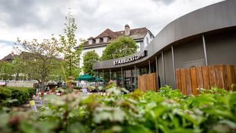 Das Starbucks in der Aarauer Innenstadt