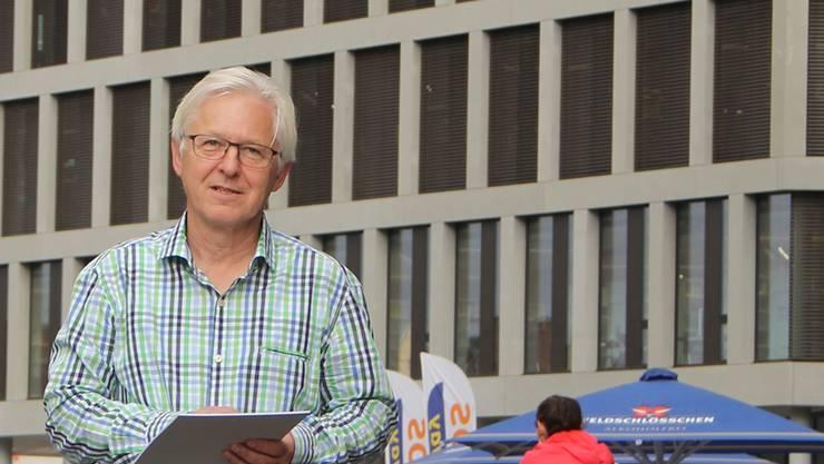 Als OK-Präsident des 4. Schweizerischen Lateintags erwartet Pius Meyer am 8. November Hunderte Besucher im und um den Campus Brugg-Windisch.