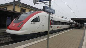 Der Bahnhof Grenchen Süd. Schnellzüge halten auch weiterhin hier.