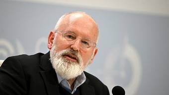 EU-Appell an der Klimakonferenz in Madrid: Vize-Kommissionschef Timmermans.