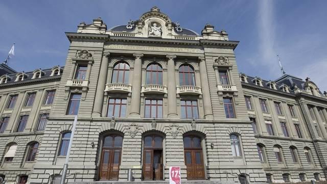 Das Hauptgebäude der Universität Bern (Archiv)