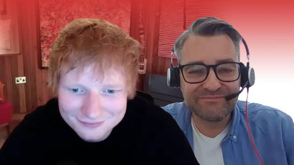 Mit Ed Sheeran über seine neue Single reden? Nicht so einfach