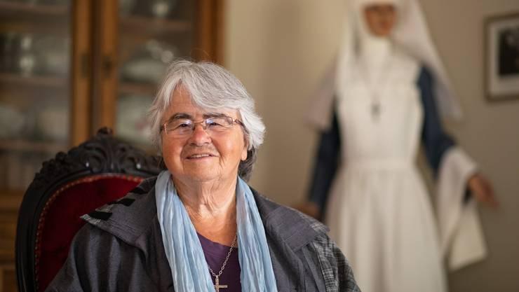 Regula Scheidegger steht derzeit als Frau Mutter der noch achtköpfigen Spitalschwestern-Gemeinschaft vor.
