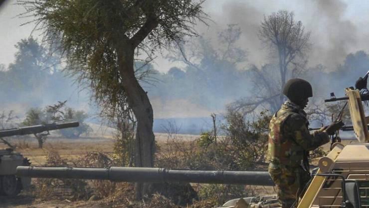 Nach monatelangen Kämpfen hat die nigerianische Armee die Terrorgruppe Boko Haram aus dem Sambisa-Wald, vertrieben. Die Region diente der Gruppe als Rückzugsgebiet. (Archivbild)