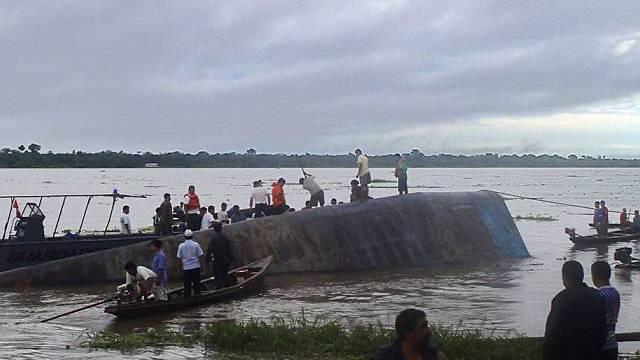 Das überladene Boot war offiziell nur für 146 Passagiere zugelassen (Archiv)
