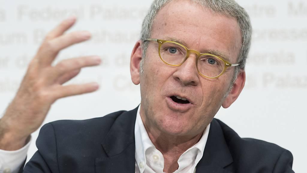 Der Datenschutzbeauftragte Adrian Lobsiger hat bei den Parteien zwischen fünf bis zehn Mal wegen Datenschutzverletzungen interveniert. (Archivbild)