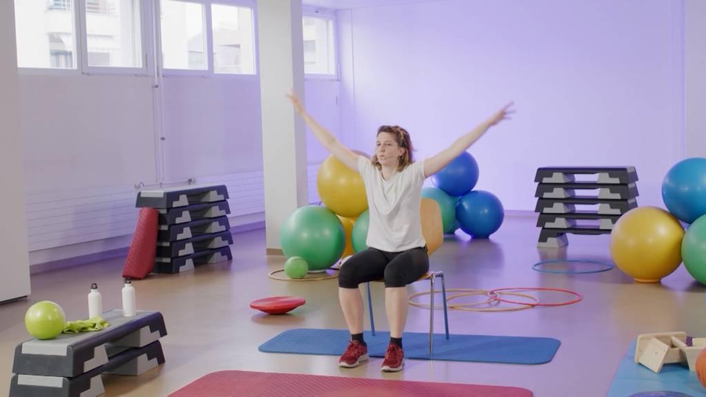 «Gymnastik im Wohnzimmer» vom 4. August 2021