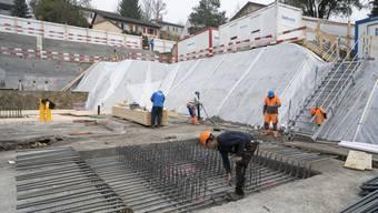 Grundsteinlegung Neubau Baugenossenschaft Schönheim Oberengstringen