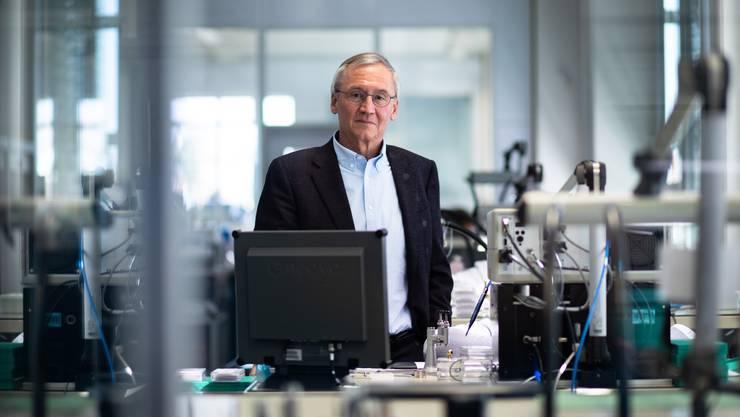 Daniel Schluep ist der heutige CEO.