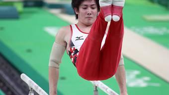 Verteidigte seine Vormachtstellung bei den Turnern hauchdünn: der Japaner Kohei Uchimura