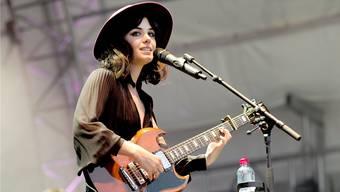 Zu Besuch in der «Grün80»: Katie Melua bietet nicht nur eigene Hits, sondern auch Coverversionen grosser Nummern.