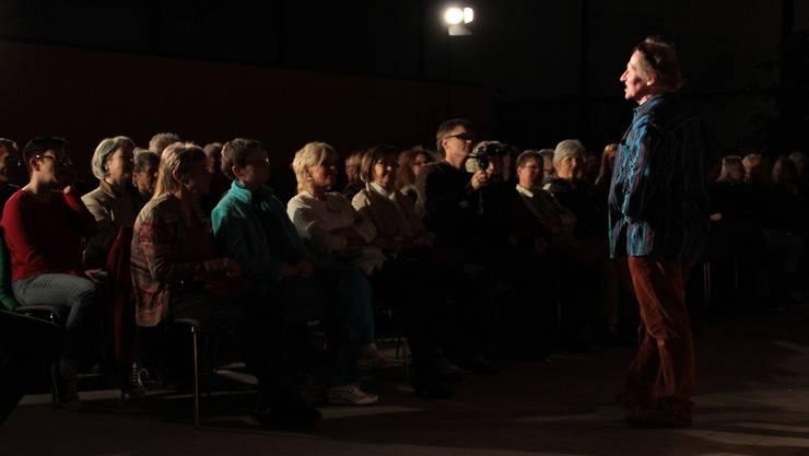 Joseph Nicolet zog die Zuhörer in seinen Bann.