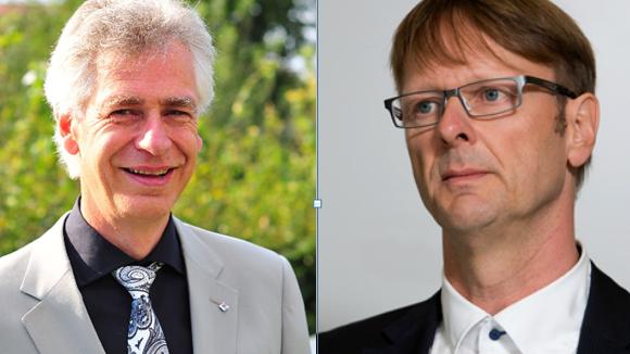SP-Grossrat Thomas Leitch (rechts) findet den Fasnachtsspruch des Bremgarter FDP-Stadtammanns Raymond Tellenbach bedenklich.