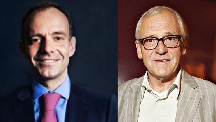 Stefan Mühlemann (l.) hat einen prominenten Mitstreiter: Ex-Stapi Elmar Ledergerber.
