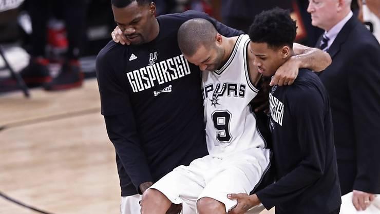 Die San Antonio Spurs glichen die Serie gegen Houston zwar aus, verloren dabei aber auch ihren erfahrenen Spieler Tony Parker