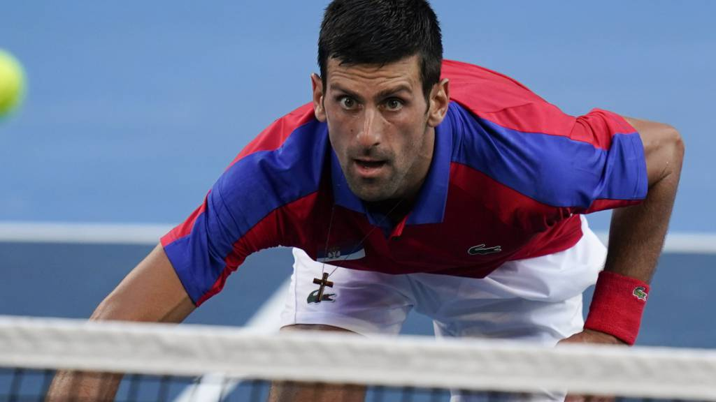Ungewohnte Misserfolge: Novak Djokovic bei Olympia