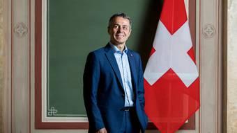 Aussenminister Ignazio Cassis am 10. August im Bundeshaus.
