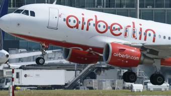 Air Berlin-Maschine startet vom Flughafen Zürich Kloten (Archiv)