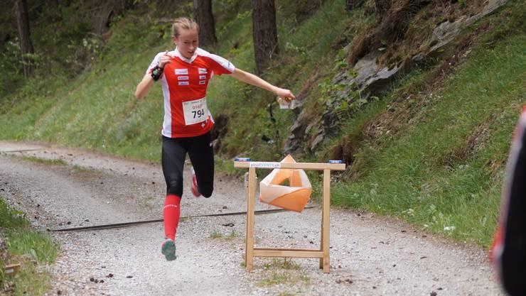 Eline Gemperle gab alles am letzten Selektionslauf.