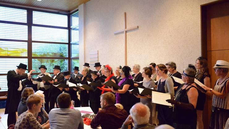 Kirchenchor, Georges Regner und Rani Orenstein in Action