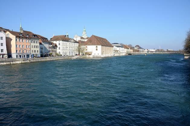 Solothurn liegt am Eis-Meer.