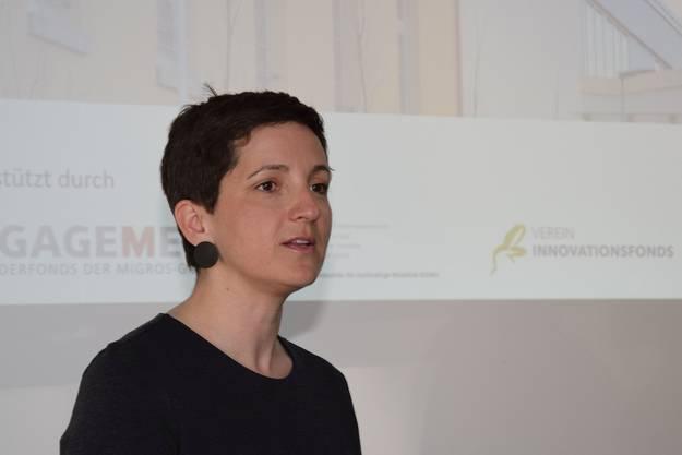Emilie Etesi ist als Local Host zuständig für den VillageOffice-Standort Windisch