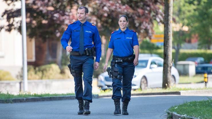 So sieht die Uniform der Kantonspolizeien aus – Zürcher testen sie, Aargau passen sich an.
