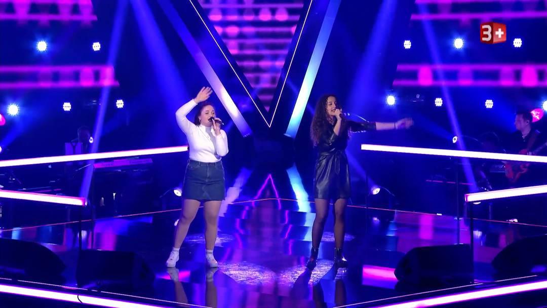 "Im ""The Voice""-Battle: Alexandra aus Würenlos gegen Morena"
