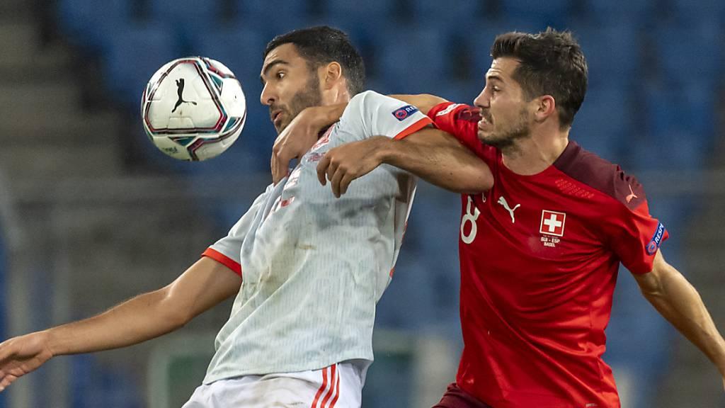Schweiz verpasst Sieg durch spätes Gegentor