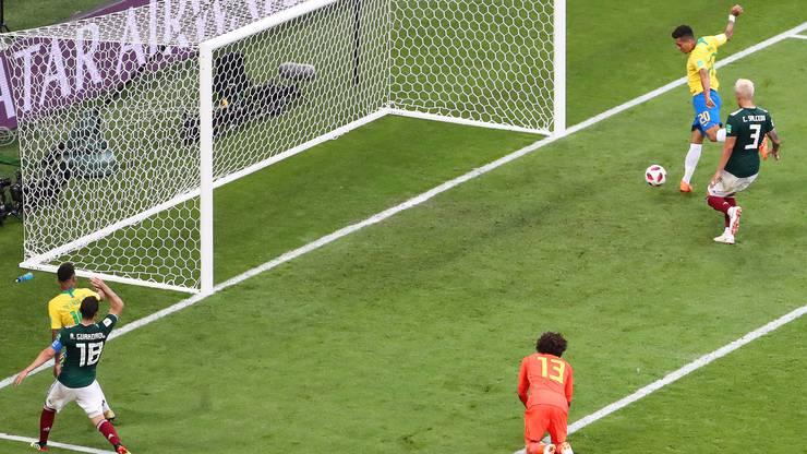 Das 2:0 des Brasilianers Firmino