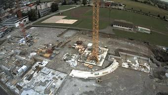 Arbeiten auf der Velodrome-Baustelle kommen voran.