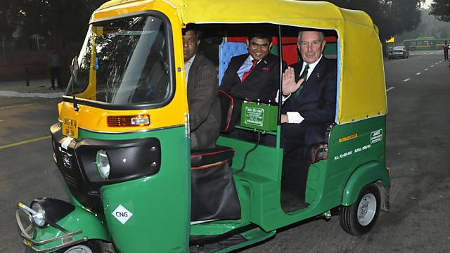 Michael Bloomberg (rechts) winkt neuer Bürgermeisterposten (Archiv)