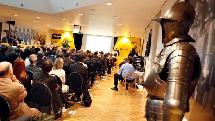 Die Preisverleihung fand im Sommerhaus De Vigier in Solothurn statt