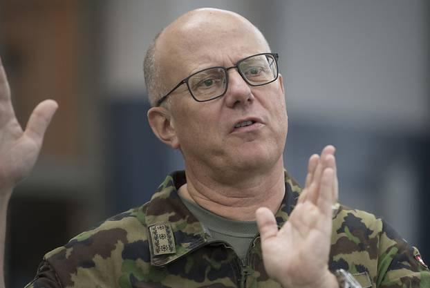 Philippe Rebord, seit Januar 2017 Chef der Schweizer Armee.
