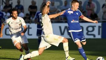 Der FC Wohlen spielt auswärts gegen Wil und verliert mit 3:1  (Archivbild)