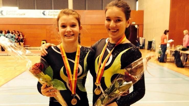 Doppelsieg für Urdorf: Stephanie Mastai (links) und Kim Kober.