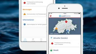 Alertswiss – eine neue App für die Alarmierung und Information der Bevölkerung