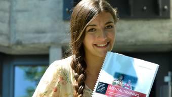 Odile Giger darf sich freuen über ihre Arbeit – sie brachte ihr einen blanken Sechser. Nicole Nars-Zimmer