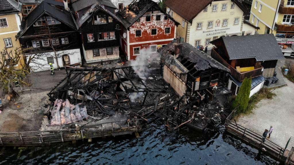 Grossbrand in österreichischer Weltkulturerbestätte Hallstatt