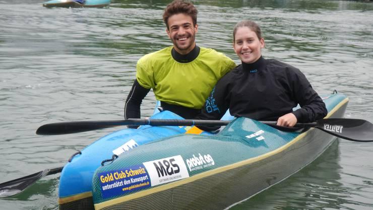 Melanie Mathys und Nico Meier wollen auf dem Fluss Vrbas an die Erfolge der letzten Jahre anknüpfen.