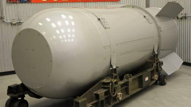 Eine - nicht nukleare - B53-Trainingswaffe (Symbolbild)