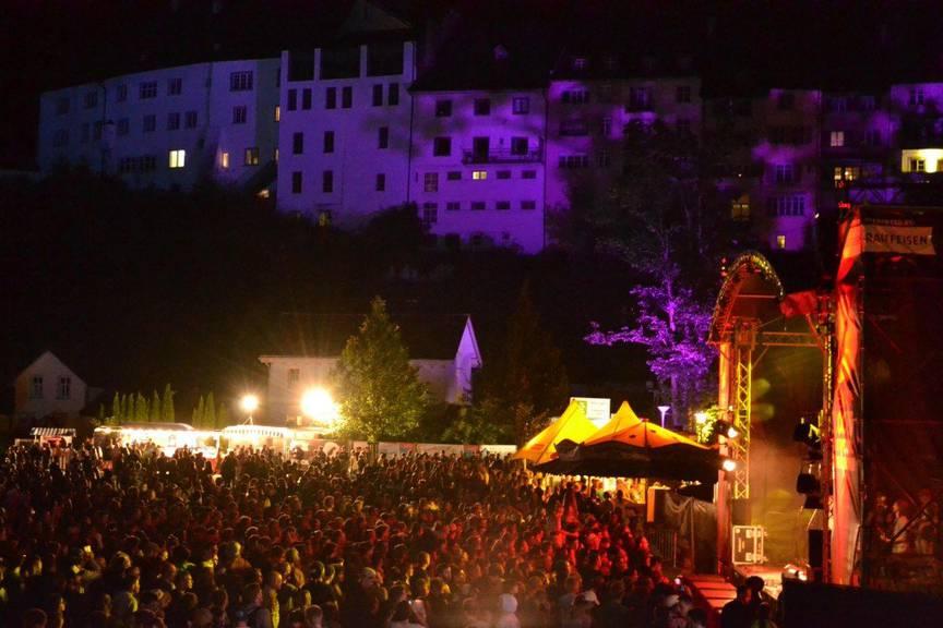 Das «Rock am Weier» kostet keinen Rappen Eintritt. (Bild: FM1Today/Sandro Zulian)
