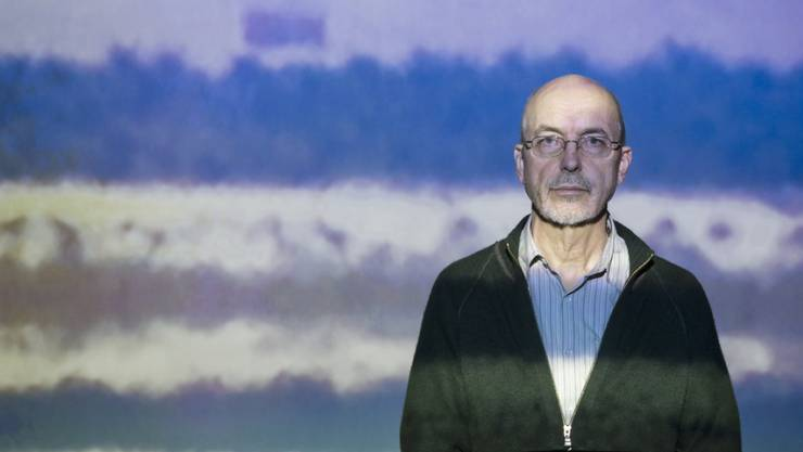"US artist Bill Viola zeigte 2014 im Kunstmuseum Bern unter anderem das Video ""Chott El-Djerid (a portrait in light and heat)"" (Archiv)"