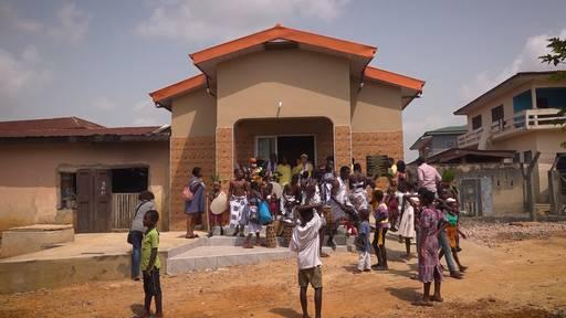 Doris' Einsatz für Ghana