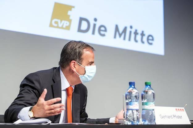 CVP-Präsident Gerhard Pfister: «Ich bin aber sehr gelassen, übe keinen Druck aus, nehme keinen Entscheid vorweg.»