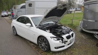 Am BMW entstand ein beträchtlicher Sachschaden.